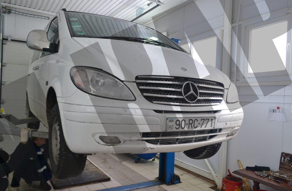 Замена крестовины Mercedes-Benz Vito 2005г.в